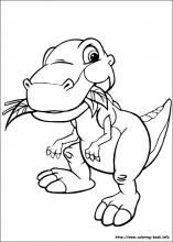 The Land Before Time Coloring Pages On Coloring Book Info