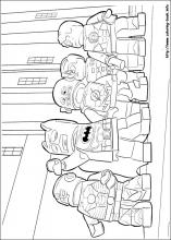 Lego Batman coloring pages on Coloring Bookinfo