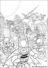 Lego Batman coloring pages on ColoringBookinfo