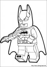Lego Batman Coloring pages - free printables | Avengers coloring ... | 220x157