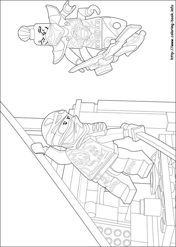 Lego Ninjago Coloring Picture