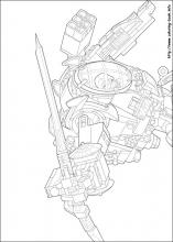 Lego Ninjago Coloring Pages On Coloring Book Info