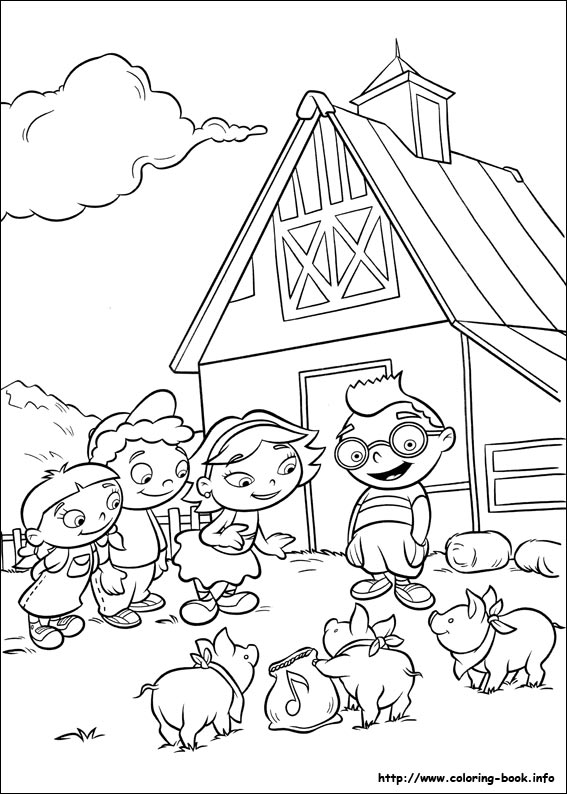 little einsteins online coloring pages - photo #30