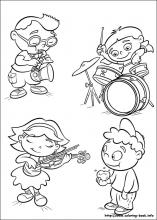 Little Einsteins coloring pages on Coloring-Book.info