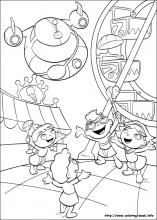 Little Einsteins Coloring Pages On Coloring Book Info