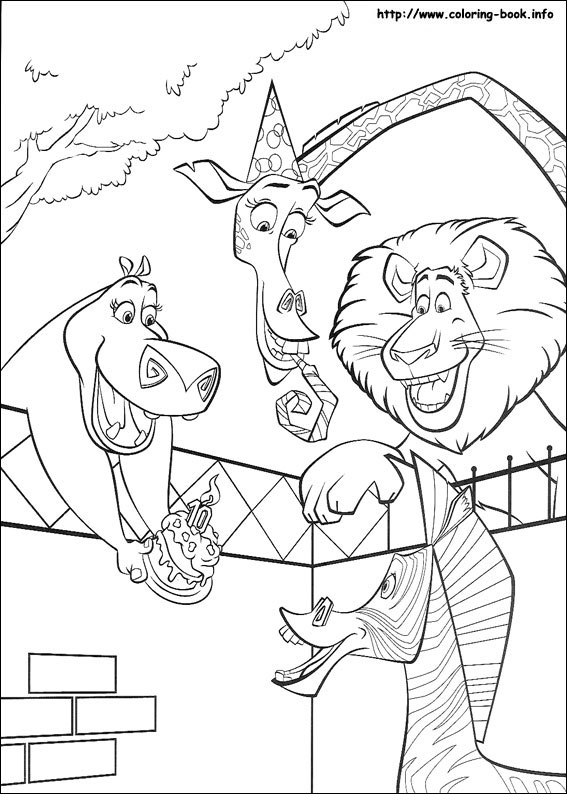 African Coloring Pages