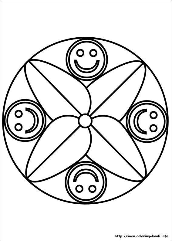Mandalas coloring pages on Coloring-Book.info