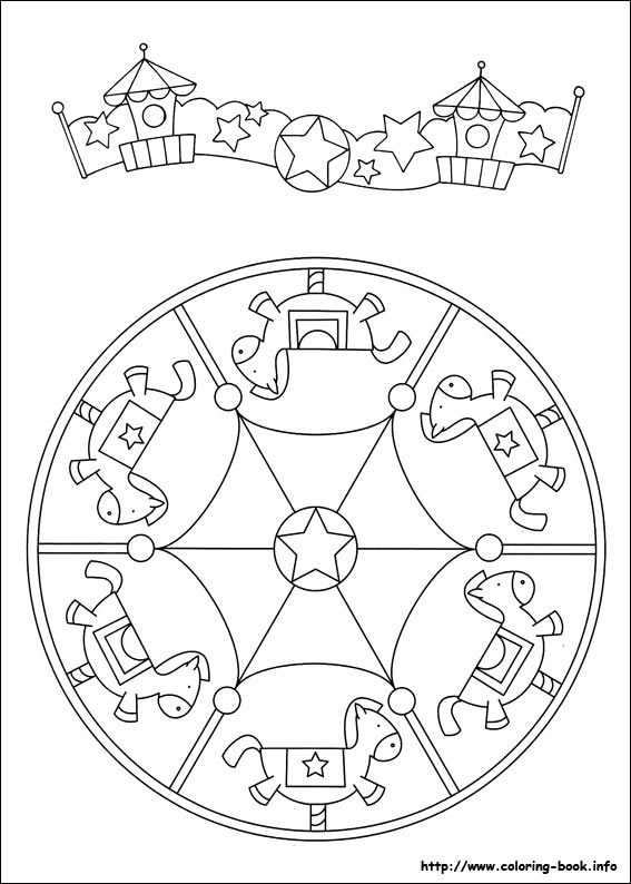 Mandalas coloring pages on ColoringBookinfo
