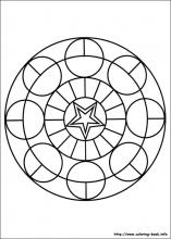 Mandalas Coloring Pages On Coloring Book Info