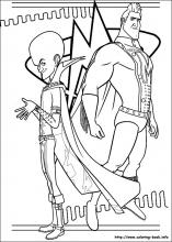index coloring pages - Megamind Coloring Pages Printable