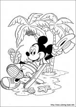 index coloring pages - Coloring Page Mickey Mouse