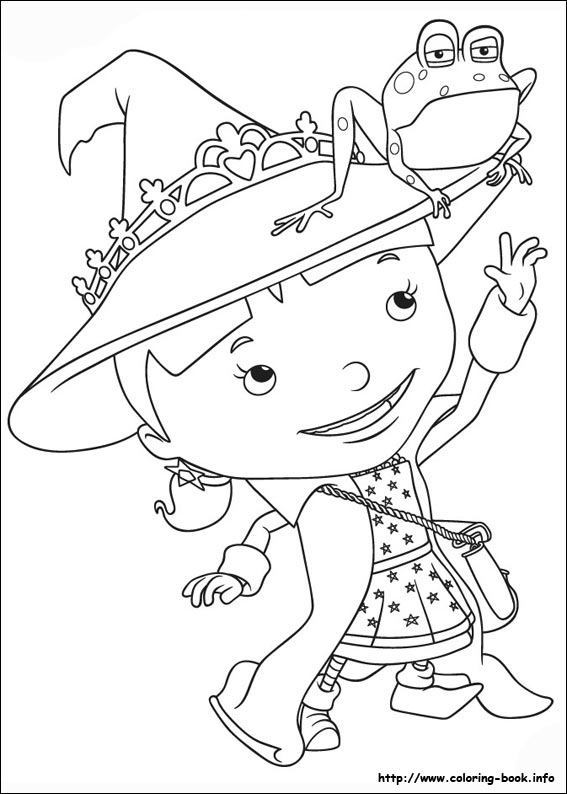 the Knight coloring picture