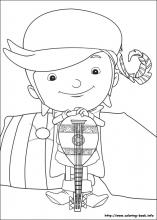 Mike The Knight Coloring Pages On Coloring Book Info