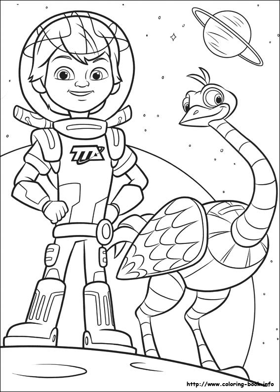 miles from tomorrowland coloring pages Miles from Tomorrowland coloring picture miles from tomorrowland coloring pages