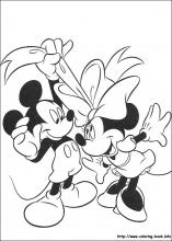 Minnie Mouse Coloring Pages On Coloring Book Info