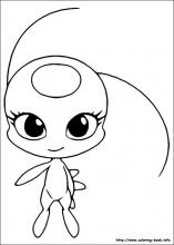 Miraculous Ladybug coloring pages on Coloring-Book.info