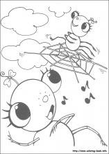 Insects - Free printable Coloring pages for kids | 220x157