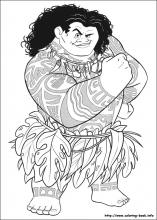 10 Moana Pictures To Print And Color Last Updated December 13th