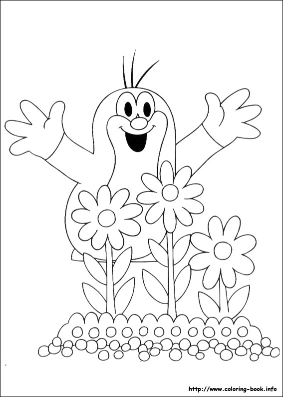 The Mole Coloring Pages On Coloring Book Info