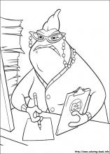 Monsters Inc Coloring Pages On Coloring Book Info