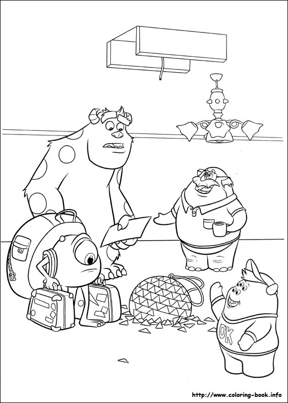 monsters university coloring pages 45 monsters university pictures to print and color last updated may 28th