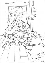 Monsters University coloring pages on Coloring Bookinfo