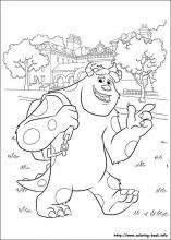 Monsters University coloring pages on Coloring-Book.info