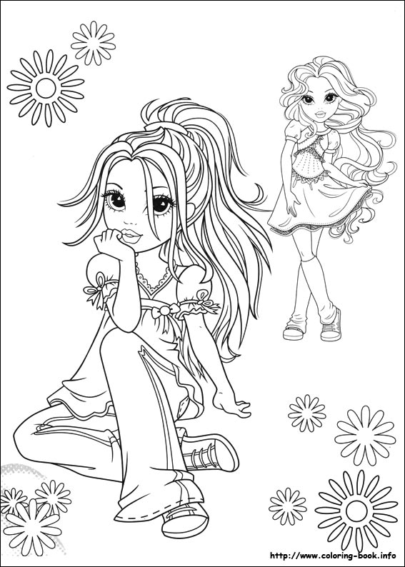 moxie girlz coloring pages on coloring bookinfo