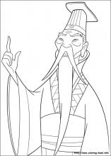 Mulan coloring pages on Coloring-Book.info