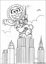Muppet Babies Coloring Pages On Coloring Book Info