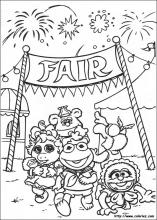 Muppet Babies coloring pages on ColoringBookinfo
