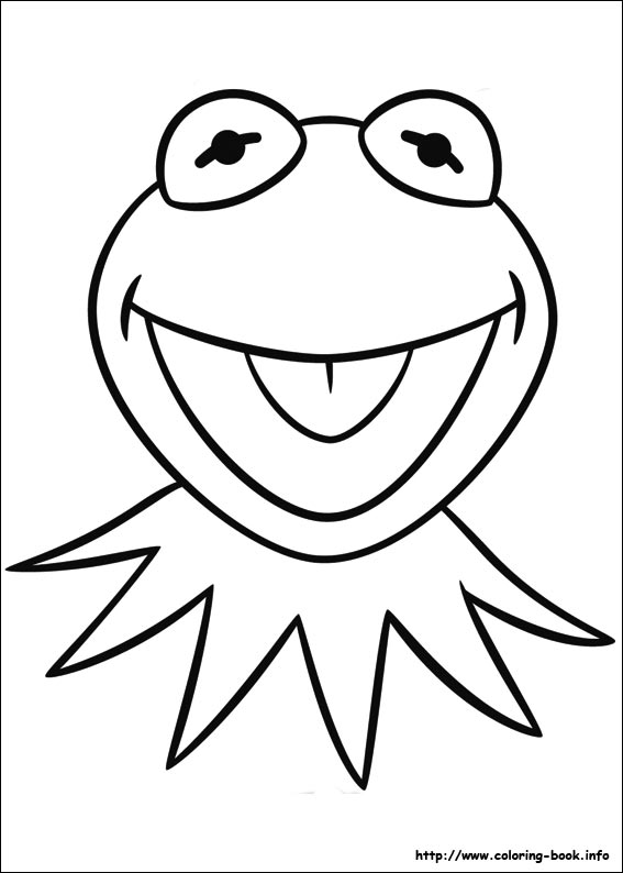 Muppets coloring picture