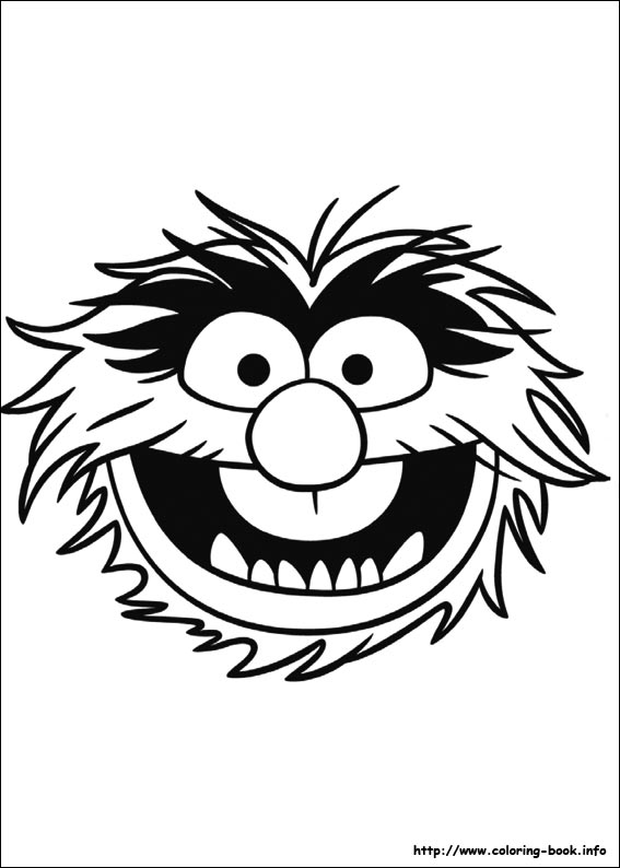 The Muppets coloring pages on Coloring-Book.info