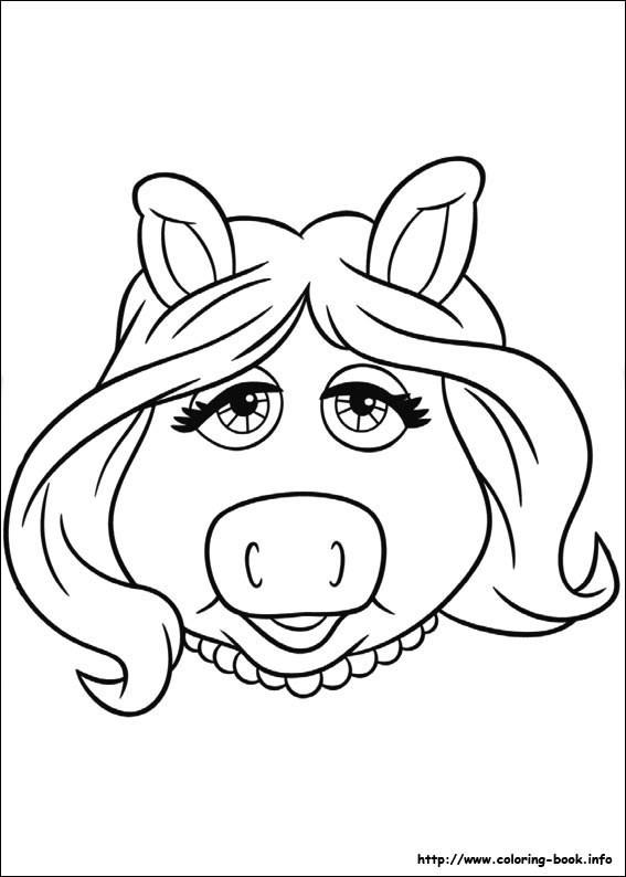 muppets coloring book pages - photo#18