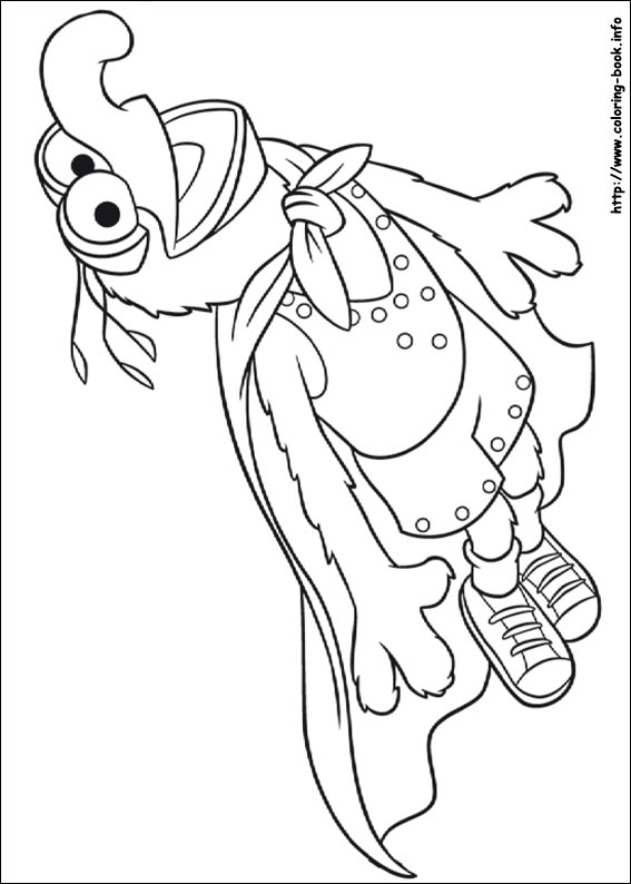 The Muppets Coloring Picture