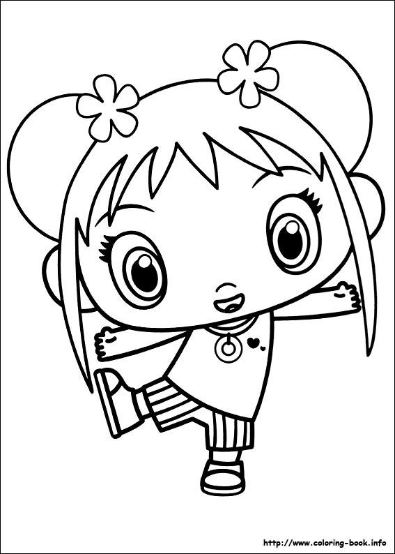Ni Hao Kai-Lan coloring picture