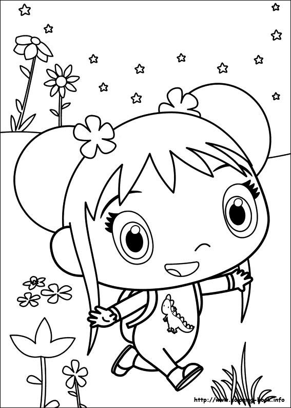 Ni Hao Kai Lan Coloring Pages bigking keywords and pictures