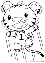 Ni Hao Kai-Lan coloring pages on Coloring-Book.info