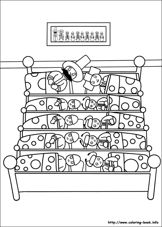 In The Night Garden Furniture In the night garden coloring picture workwithnaturefo