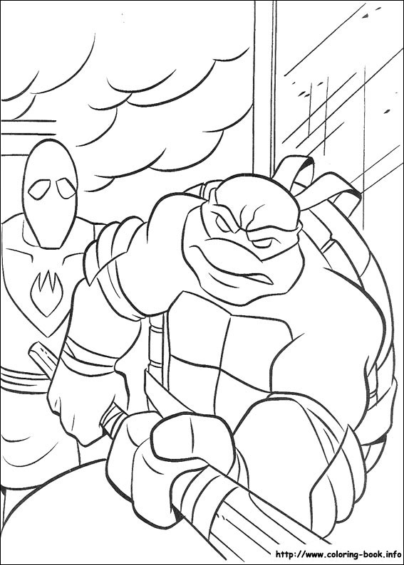 teenage mutant ninja turtles coloring pages on coloring bookinfo