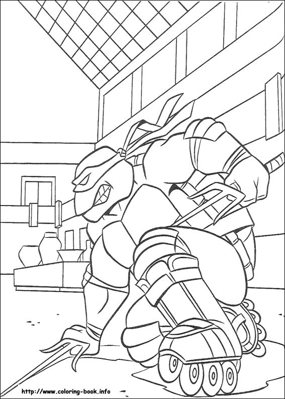 t ninja turtles coloring pages - photo #27