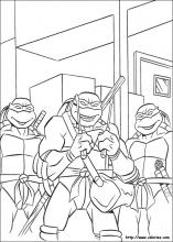 Teenage Mutant Ninja Turtles coloring pages on Coloring-Book.info