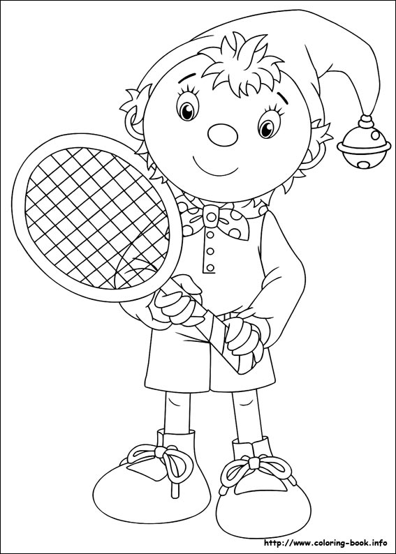 Noddy Coloring Picture Noddy Colouring Pages