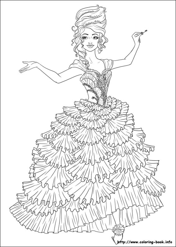 Nutcracker coloring pages to download and print for free ...   794x567