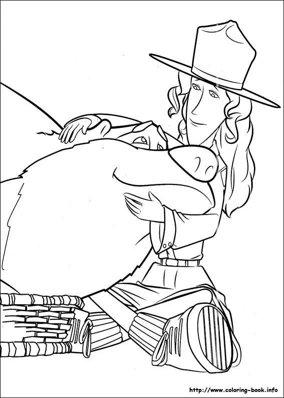 open season coloring picture - Open Season Coloring Pages