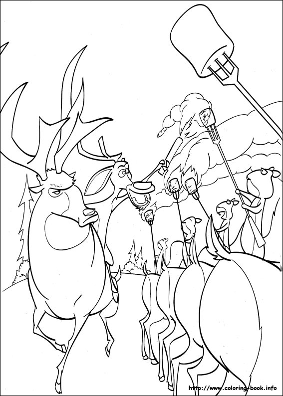 44 open season pictures to print and color last updated january 30th - Open Season Coloring Pages