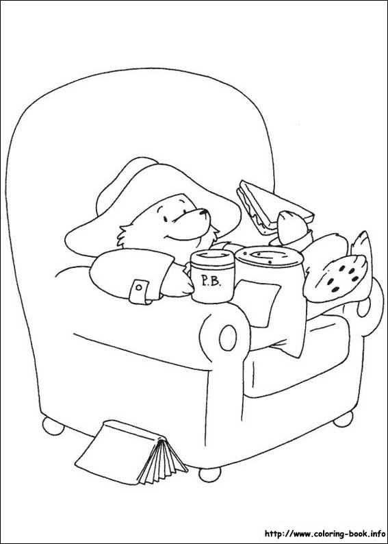 paddington bear coloring pages on coloring bookinfo