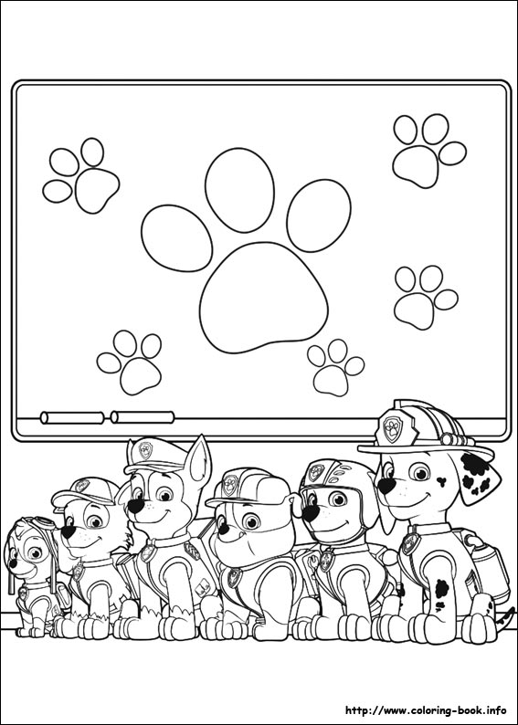 image about Free Printable Paw Patrol Coloring Pages known as Paw Patrol coloring web pages upon