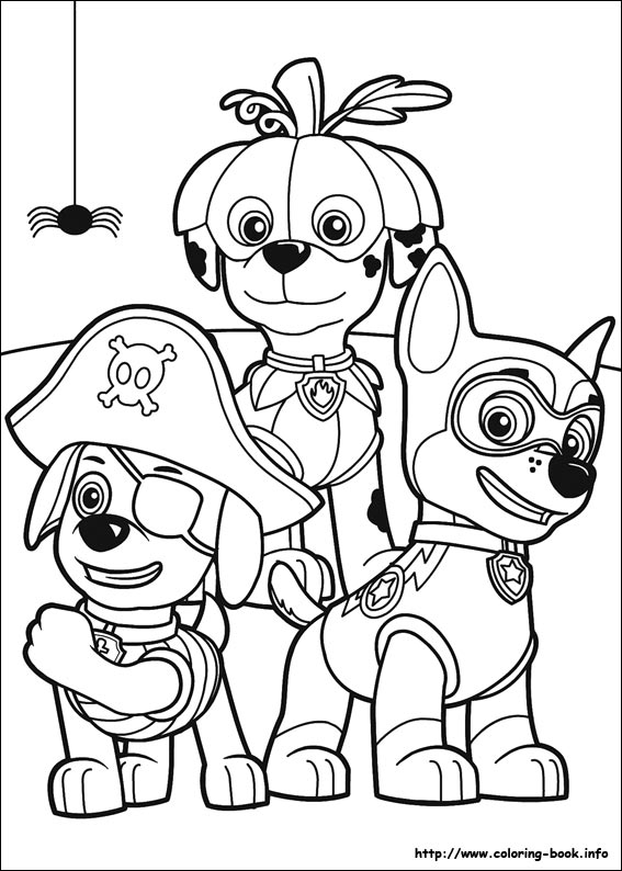 image relating to Printable Paw Patrol Coloring Pages referred to as Paw Patrol coloring internet pages upon