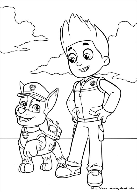 photograph relating to Printable Paw Patrol Coloring Pages referred to as Paw Patrol coloring webpages upon